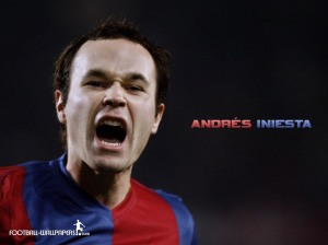 INIESTA - GUY TRUITE - FOOT