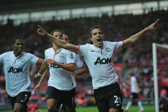 robin_van_persie_triplé_but_manchester_united_southampton_photo